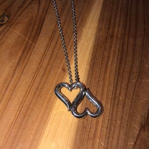 James Avery Heart to Heart necklace and chain